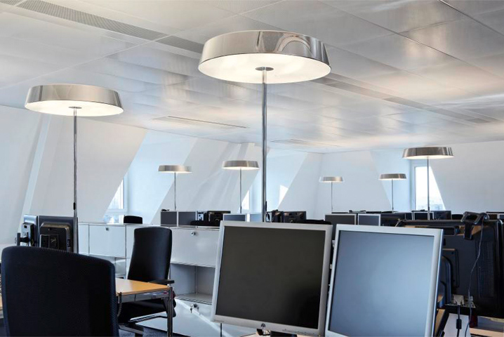 Lampadaire LED Koi Neo de Belux