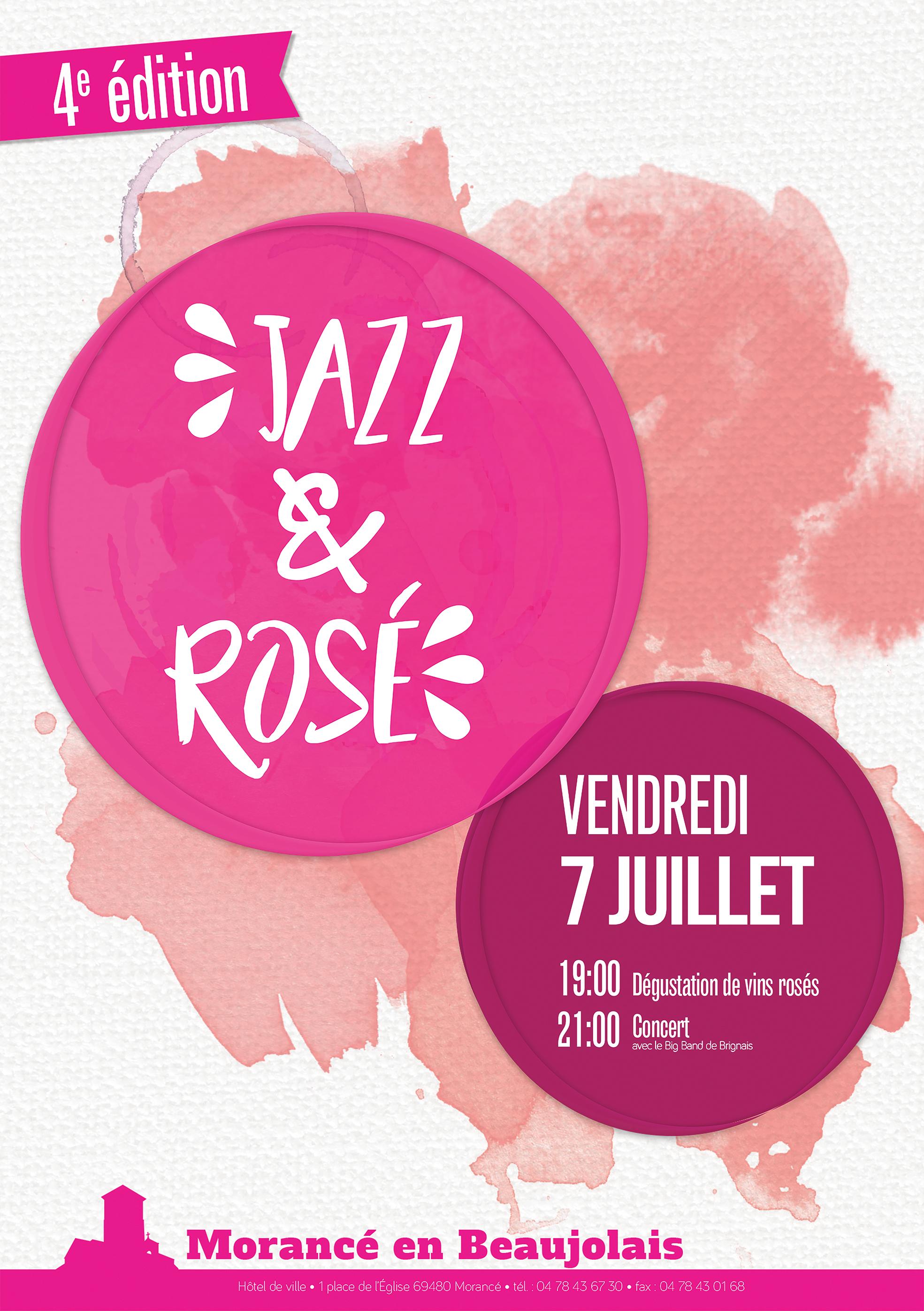 Jazz et Rosé