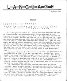 A escrita como edição | Bruce Andrews entrevistado por Laura Erber e Micaela Kramer