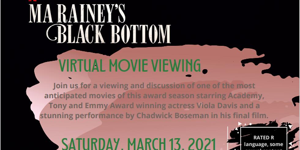 """Ma Rainey's Black Bottom"" Virtual Movie Event  (Target IV)"