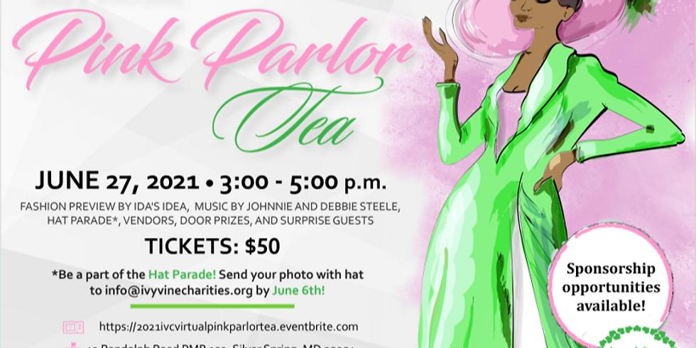 Ivy Vine Charities 2021 Virtual Pink Parlor Tea