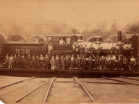 Illinois Central Roundhouse and Freight Yard