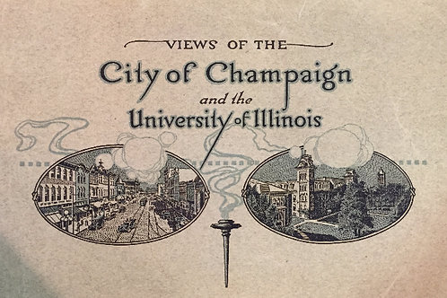 Views of the City of Champaign & Univ of Illinois