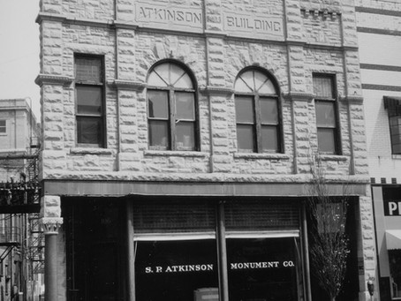 106-108 South Neil Street - Atkinson Monument Company & Price Paint Store