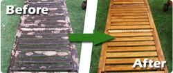 Garden furniture clean