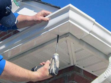 gutter repairs, residentia and commercial gutter maintenance