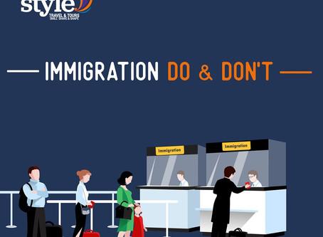 Immigration မှာ စစ်ဆေးမေးမြန်းခံရတဲ့အခါ ⁉️