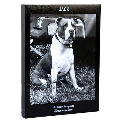 Pet Remembrance Photoblock