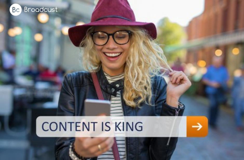 שילוב בין תוכן אותנטי לתוכן מקצועי / Broadcust