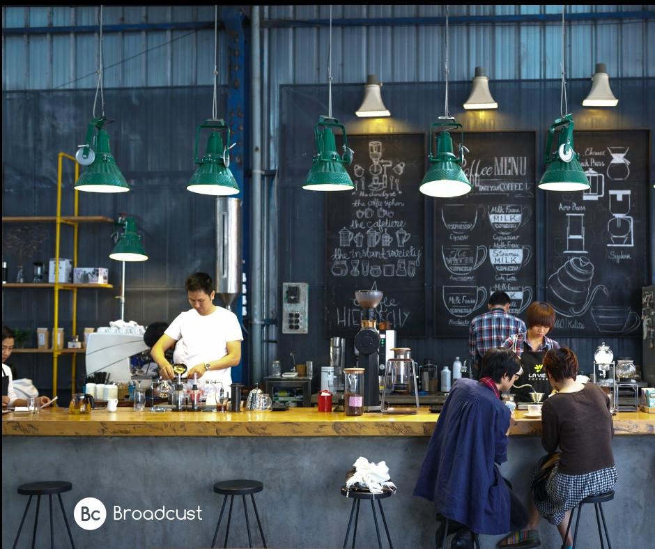 טיפים בשיווק בית הקפה/ broadcust