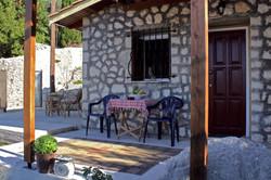 Pretty Stone House veranda