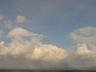 雪雲の動き