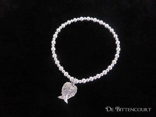 Double Angel Wing Bracelet