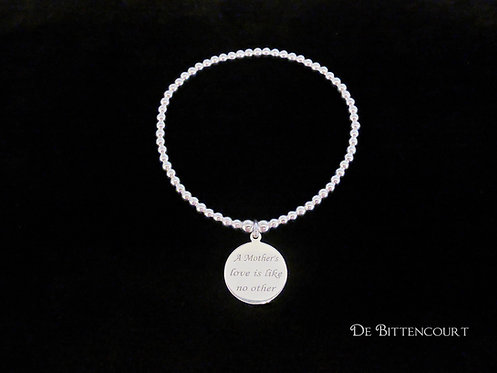 A Mother's Love Sterling Silver Bracelet