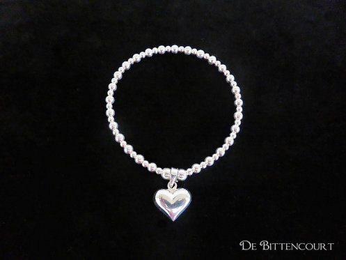 Medium Classic Heart Bracelet