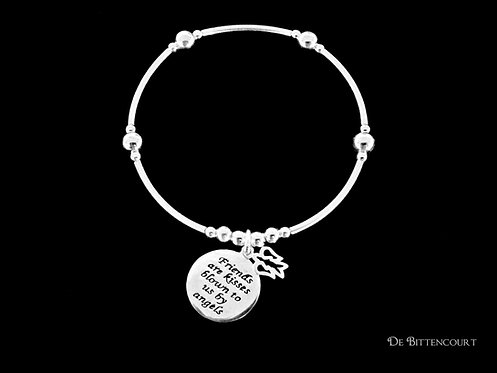Friends & Angels Noodle Bracelet