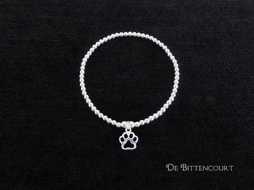 Open Paw Print Bracelet