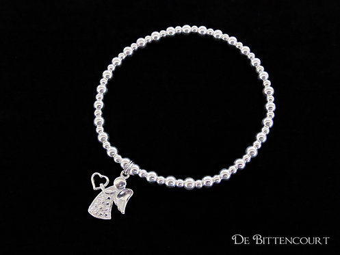 Carrying Your Heart Angel Bracelet
