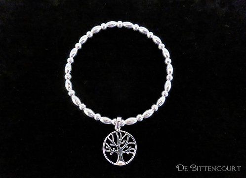 Tree of Life Oval Bracelet