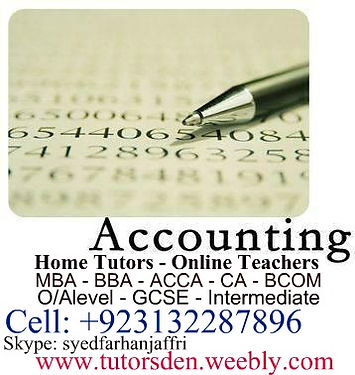 accounting, acca, ca, ib maths, add maths, business studies, financial