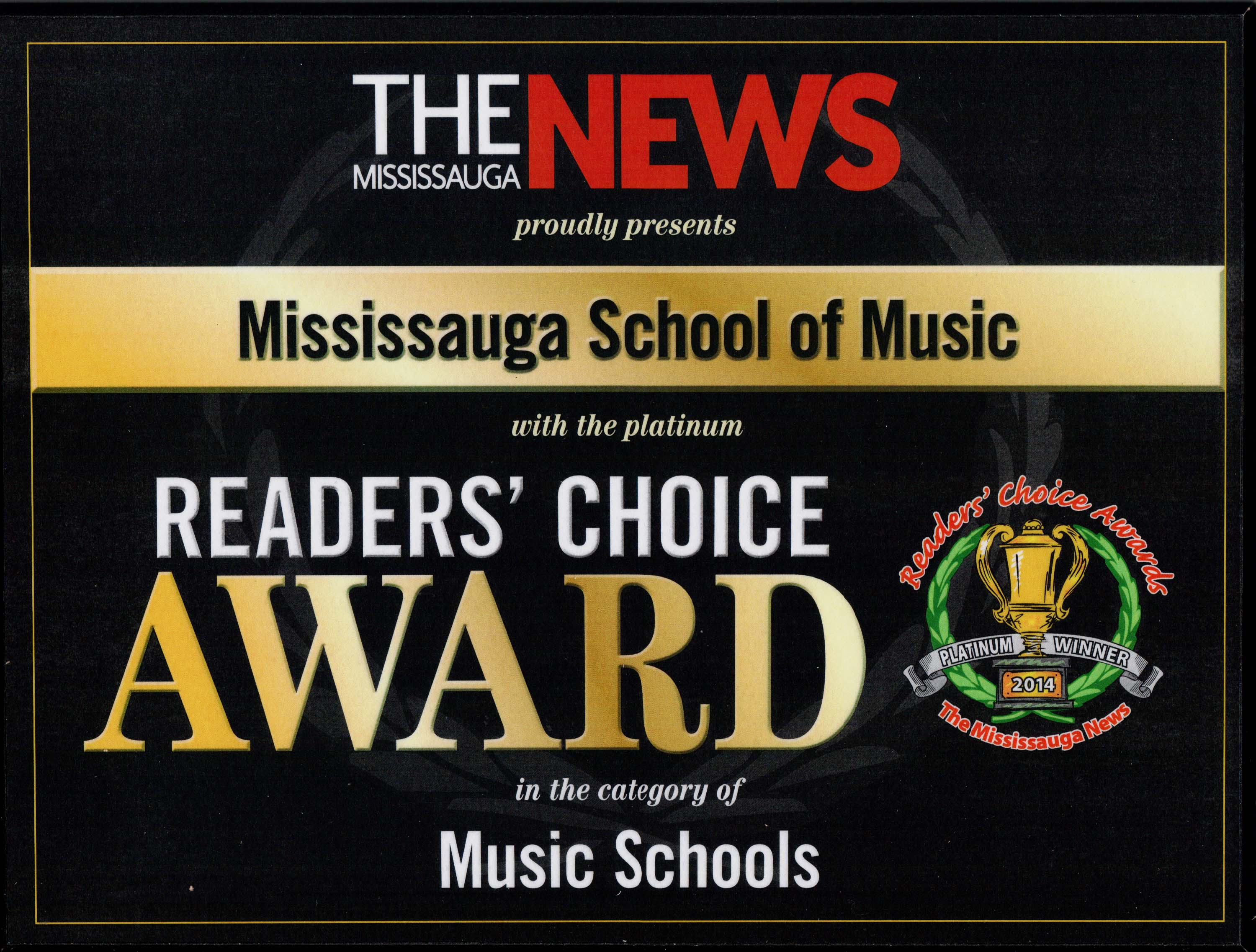 Mississauga School of Music #1 2014