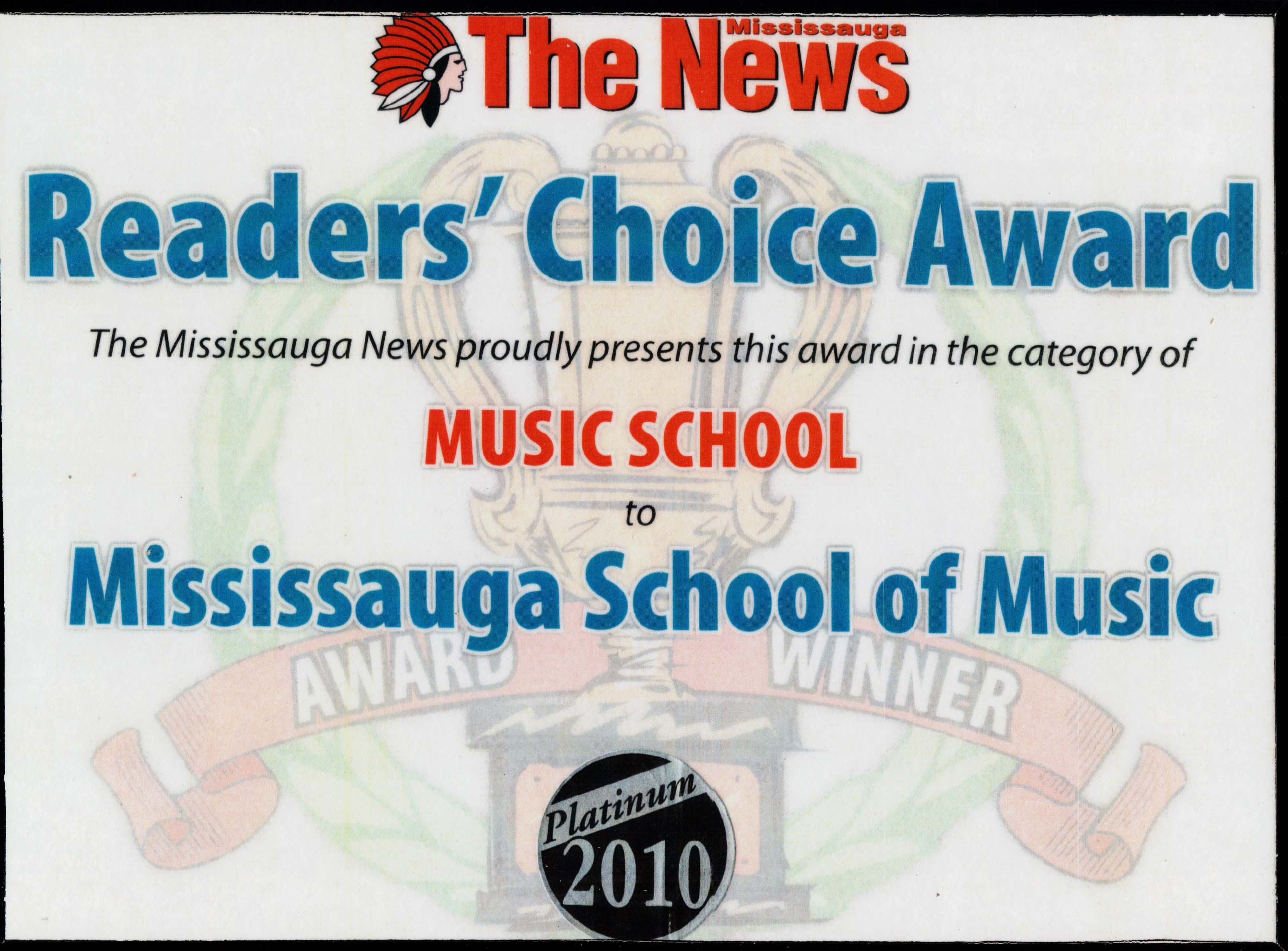 Mississauga School of Music #1 2010