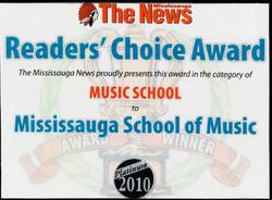 Mississauga School of Music #1 2010