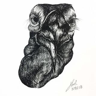 Art Factory Pen & Ink Study