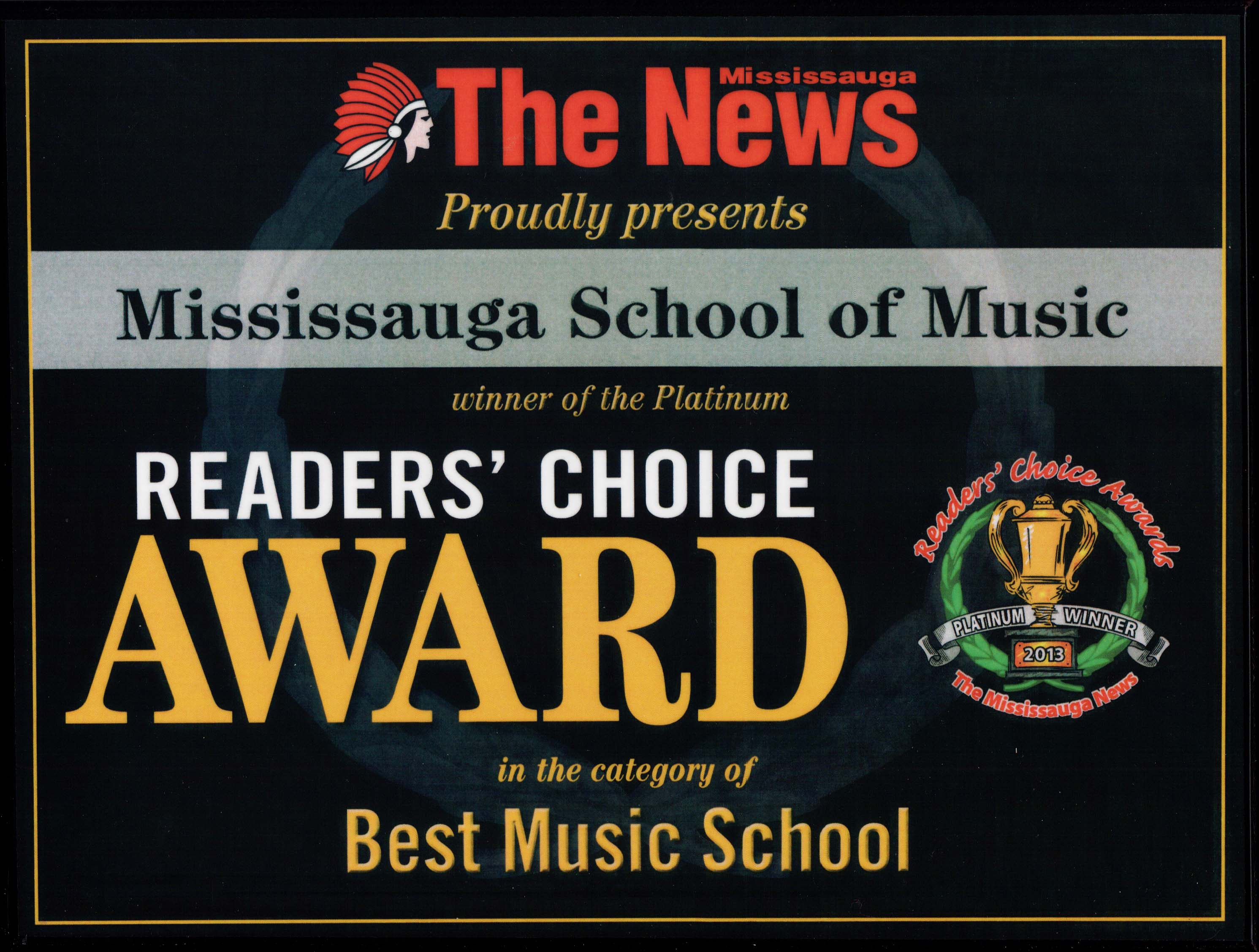 Mississauga School of Music #1 2013