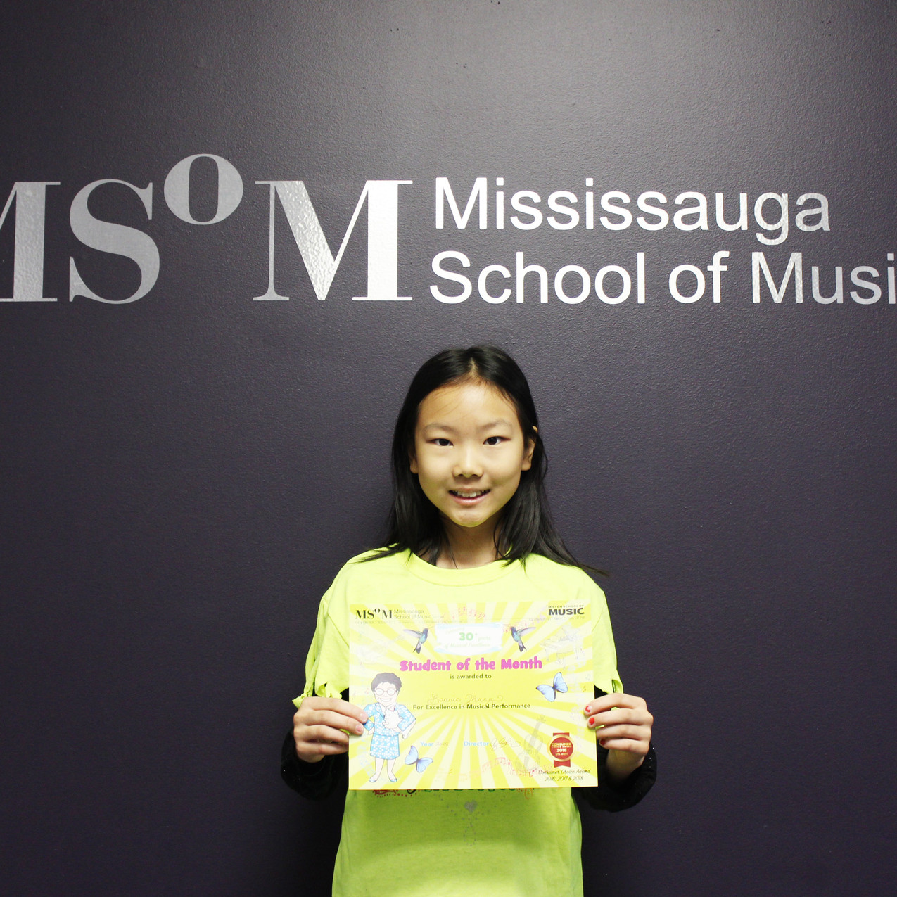 Student of the Month: Sept+ Oct 2018