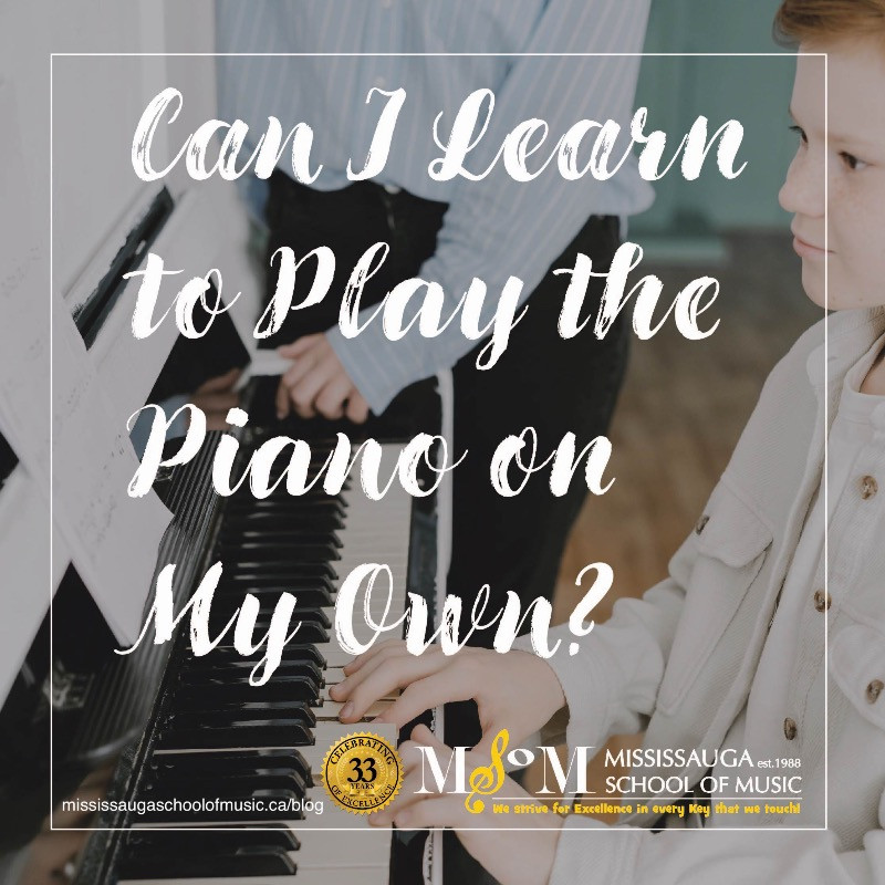 Young child learning piano and intently gazing at sheet music