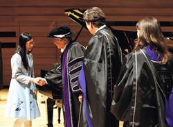 Mindy Lam Receives RCM Gold Medal