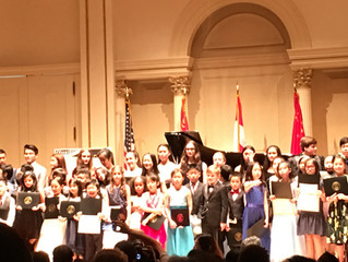 Danielle Performs at Carnegie Hall!