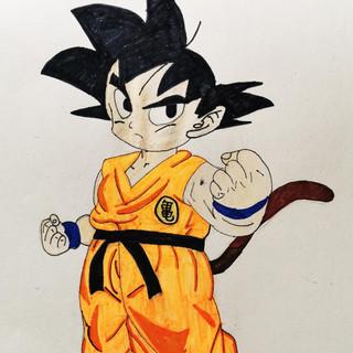 Goku-art-lessons-mississuaga-art-factory
