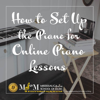 How to Set Up the Piano for Online Piano Lessons