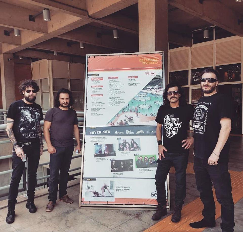 CrystalShip Sesc Araraquara CoverNow
