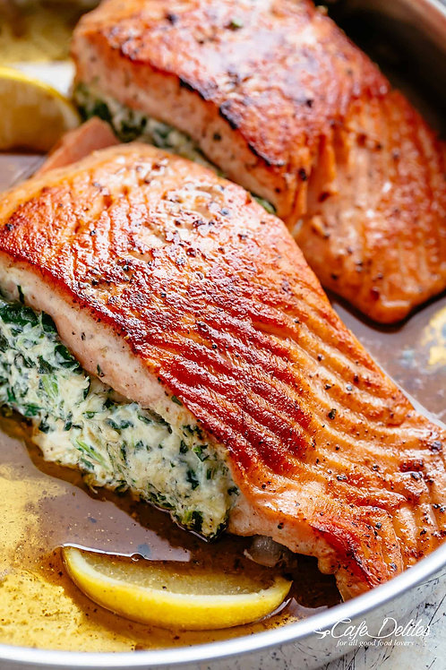 * Holiday Special * Stuffed Salmon