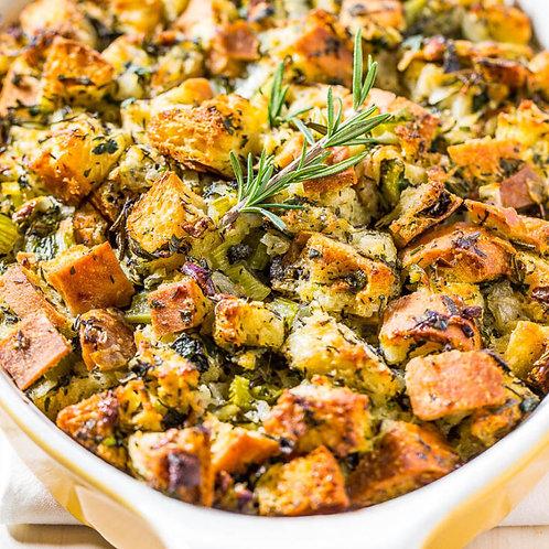 Stuffing (W/ Sage Sausage) - HALF PAN