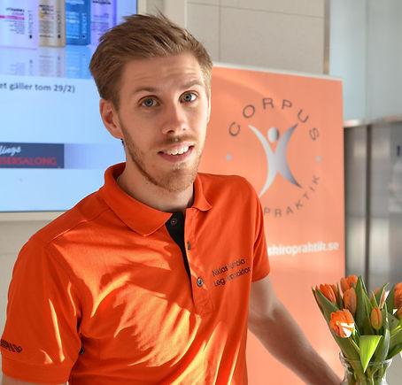 Leg. kiropraktor Niklas Humbla