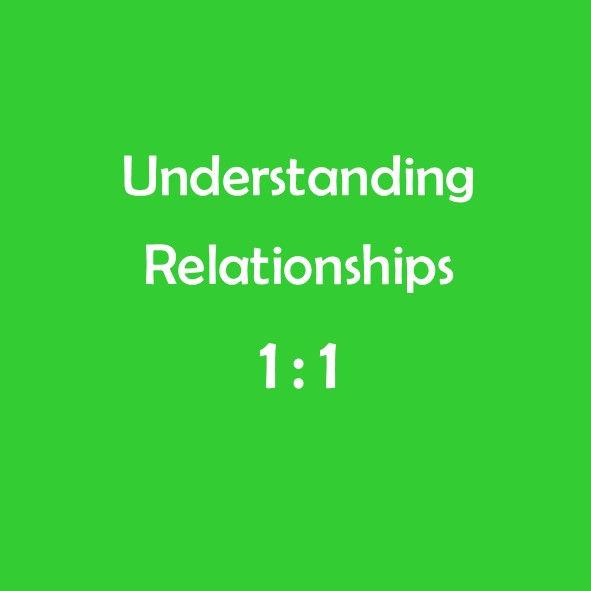 UNDERSTANDING RELATIONSHIPS: Individual