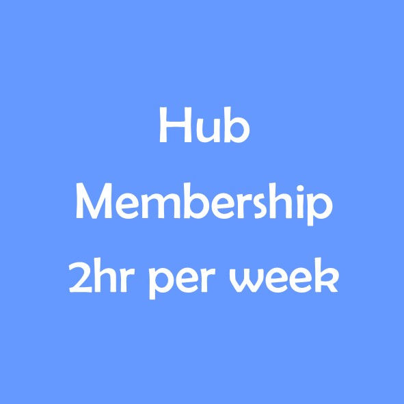 HUB TERM MEMBERSHIP - 2 HOURS PER WEEK