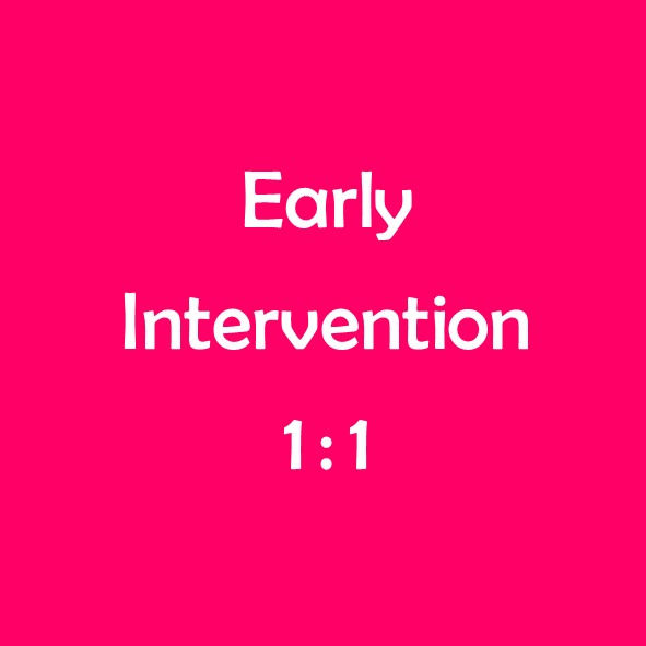 EARLY INTERVENTION: Individual Session