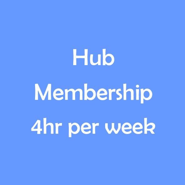 HUB TERM MEMBERSHIP - 4 HOURS PER WEEK