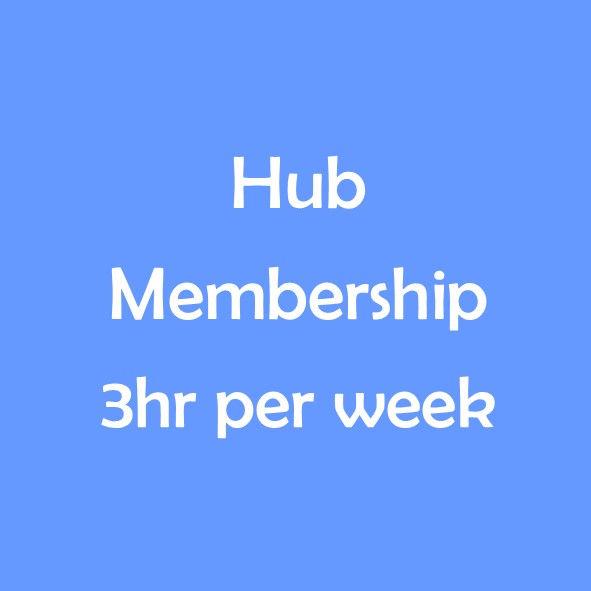 HUB TERM MEMBERSHIP - 3 HOURS PER WEEK
