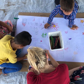 Volunteer Story: Emily in Nea Kavala, Greece