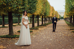 свадебная фотосессия в Петергофе