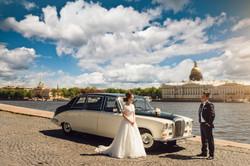 свадебная фотосессия на набережной