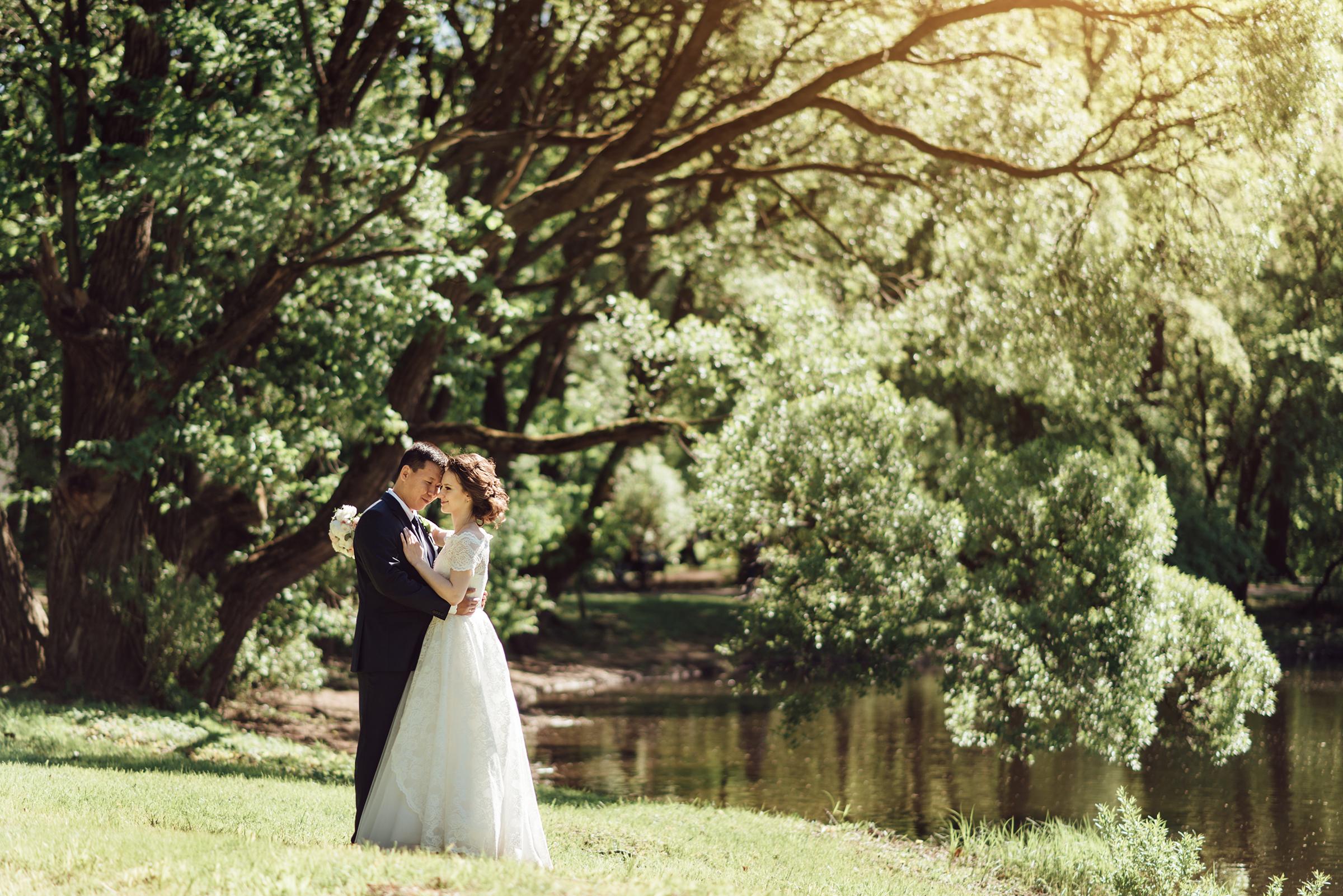 свадебная фотосессия в ЦПКиО