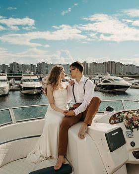 Фотосессия на яхте в СПб
