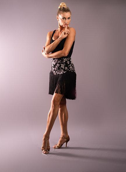 Lux Fringe Skirt